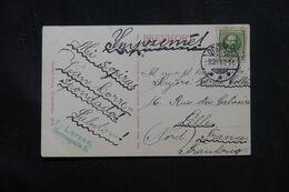 DANEMARK - Affranchissement De Odense Sur Carte Postale Pour La France En 1911 , écrite En Espéranto - L 70411 - Briefe U. Dokumente