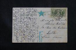 DANEMARK - Affranchissement De Odense Sur Carte Postale Pour La France En 1911 , écrite En Espéranto - L 70412 - Briefe U. Dokumente