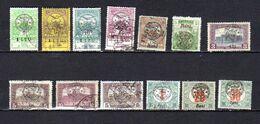 Roumanie ,Transylvanie 1919, Timbres De Hongrie Surchargés, Entre 47 Et TX 9, Ob, Cote 89 € - Transylvania