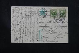 DANEMARK - Affranchissement De Odense Sur Carte Postale Pour La France En 1911 , écrite En Espéranto - L 70413 - Briefe U. Dokumente