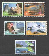 RR619 2002 TONGA FISH & MARINE LIFE CULTURE TOURISM #1622-6 MICHEL 1SET MNH - Altri