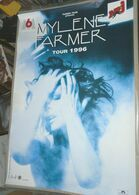 MYLENE FARMER VERITABLE AFFICHE CONCERT Format Environ 79 X 118 Cm TOUR 1996 - Affiches