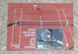 10 X Blok/bloc 157 Olympix 2008 Olympiade Tennis 1 X N°2** - Blocks & Kleinbögen 1962-....
