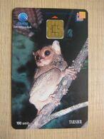 Chip Phonecard,Tarsier,used - Indonesien