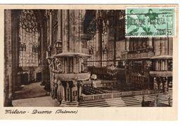 Italië Italy Italien - Milano - Duomo Interno - Fascista - Voluzione  Stamp - 1935 - Italië