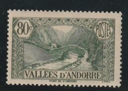 Andorre N° 71 Sans Charniére ** - Nuevos