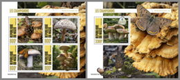 NIGER 2020 MNH Mushrooms Pilze Champignons M/S+S/S - OFFICIAL ISSUE - DHQ2035 - Mushrooms