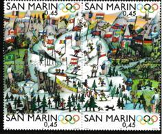 San Marino 2006 Torino Olympic Games Block Of Four MNH/** (H52) - Invierno 2006: Turín