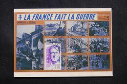 FRANCE - Carte Postale Commémorative Sur Le Général De Gaulle En 1990  - L 70428 - 1961-....