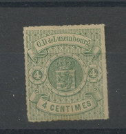 Luxembourg 1865-73, Armoirie, 15 Sans Gomme, Cote 55 € - 1859-1880 Wapenschild