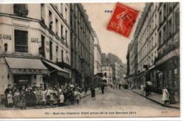 Paris 11°- Rue Du Chemin Vert Prise De La Rue Servan - Paris (11)