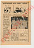 Presse 1950 Equipe De France De Fleuret Escrime Sport Rommel Buhan D'Oriola Bougnol 231CH12 - Non Classificati