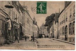 Villeneuve-sur-Yonne-La Grand'Rue Et La Porte De Joigny - Villeneuve-sur-Yonne