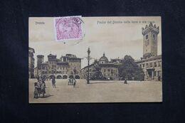 AUTRICHE / ITALIE - Affranchissement De Trento Sur Carte Postale Pour La France En 1909 - L 70444 - Cartas