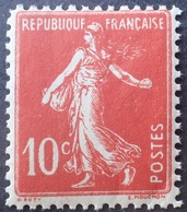 R1306/98 - 1907 - TYPE SEMEUSE FOND PLEIN - FAUX LORULOT - N°138 NEUF** - Cote (2020) : 75,00 € - 1906-38 Sower - Cameo