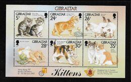 GIBRALTAR ( EUGIB - 162 )  1997  N° YVERT ET TELLIER  N° 792/797   N** - Gibraltar