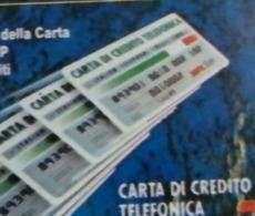 (LT1257) VARIETA' ERRORE - STRISCE ROSSE SU CARTA CREDITO - CARTA INFINITA USATA C&C N° 1208 N° 403073037 - Errori & Varietà