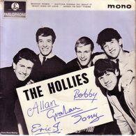 THE HOLLIES  UK EP  - ROCKIN' ROBIN + 3 - Rock
