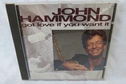"CD ""John Hammond"" Got Love If You Want It - Blues"