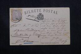 PORTUGAL - Carte Postale  Pour Rantswiller En 1906 - L 70457 - 1892-1898 : D.Carlos I