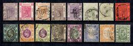 Hong-Kong Belle Petite Collection De Bonnes Valeurs 1882/1911. B/TB. A Saisir! - Hong Kong (...-1997)
