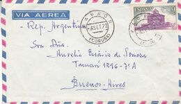 ESPAGNE. CIRCULEE 1972, PADRON A BUENOS AIRES, ARGENTINE. ENVELOPPE PAR AVION - LILHU - 1931-Hoy: 2ª República - ... Juan Carlos I
