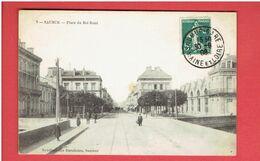 SAUMUR 1908 PLACE DU ROI RENE CARTE EN BON ETAT - Saumur