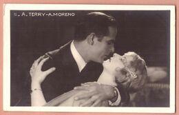 Cartolina D'epoca Cinema A. Terry - A. Moreno - Non Viaggiata - Schauspieler