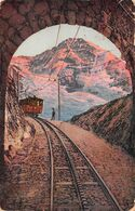 Jungfraubahn Tunnelausblick - Wengen - Jungfrau - Bahn - BE Berne