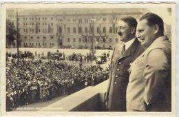 Hitler Und Hermann Göring Reichskanzlei Berlin - Auf Dem Balkon Der Reichskanzlei - 3e Reich - NSDAP - Mitte