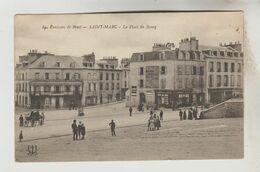 CPA BREST (Finistère) - SAINT MARC : La Place Du Bourg - Brest