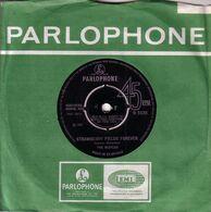 THE BEATLES  UK SG 1967 - STRAWBERRY FIELDS FOREVER - PENNY LANE - Rock