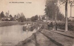 51 Chalons Sur Marne. Le Canal - Châlons-sur-Marne