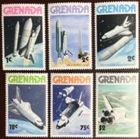 Grenada, 1978, Space Shuttle, MNH, Michel 889-894 - Grenada (1974-...)