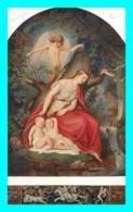 A767 / 615 Julius Hubner Felicitas Und Der Schlaf ( Ange ) - Pintura & Cuadros
