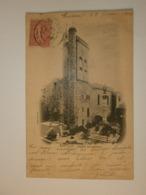 34 Servian, église Paroissiale. Précurseur Cachet 1904  (A3p50) - Autres Communes