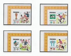 COB N° 881/888 Coupe Du Monde De Football En Argentine  Non Dentelé Côte 21.00 € XX MNH - 1970-79: Ongebruikt