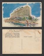 Egypt - Rare - Lovely Old Post Card - Nile Hilton Hotel - Cairo - Egypt