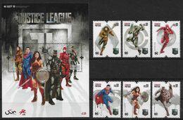 Portugal 2020 , Super-Man - Block Und Satz - Postfrisch / MNH / (**) - Unused Stamps