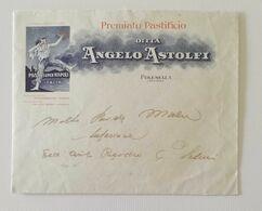 Busta Di Lettera Pubblicitaria Premiato Pastificio Ditta Angelo Astolfi Polesella 1943 - 1900-44 Vittorio Emanuele III