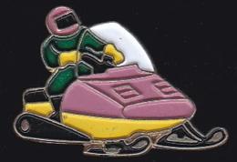 66520- Pin's-Motoneige.Jetski. - Sport Invernali