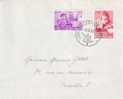 DDX 595 ---  Enveloppe TP à Surtaxe 1226/27 Enfants Handicapés - BRUXELLES 1963 - Brieven En Documenten