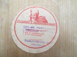 Lokeren De Vreese Van Loo St Laurents Biscuits Wardebon 1935 - Werbung