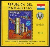 PARAGUAY - BLOC ** (1970) SKYLAB - ESPACE - Sud America