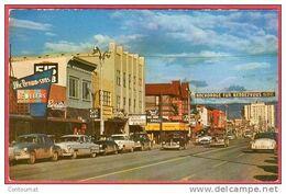 CPSM ALASKA Anchorage  Fourth Avenue* Format CPA - Altri