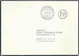 Trauerbrief  Tegerfelden (Aarau) - Uster             1965 - Storia Postale