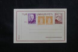 TURQUIE - Entier Postal + Compléments , Non Circulé - L 70500 - Interi Postali