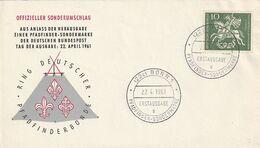 Bundesrepublik Deutschland / 1961 / Mi. 346 FDC (A099) - FDC: Covers