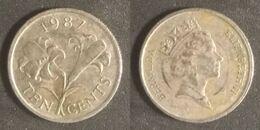 Bermuda - 10 Cents 1987 Used (bm001) - Bermudas
