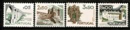 Portugal, 1972/81, # 1126, 1133, 1135, 1141, MH - Nuevos
